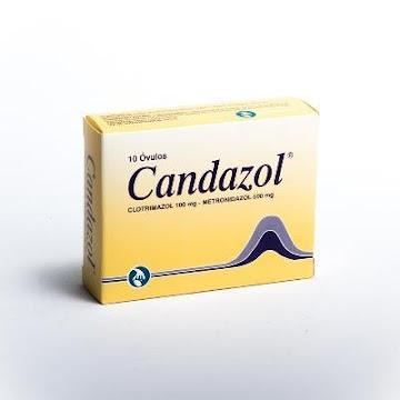 Candazol 500mg Óvulos   Caja x10ovu Gynopharm Clotrimazol Metronidazol