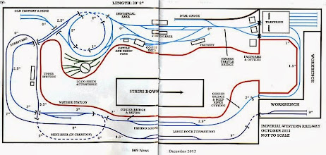 Photo: 024 At last, the track plan (taken from 009 News December 2013), which will hopefully add some perspective to the tour around the system that we have just had .