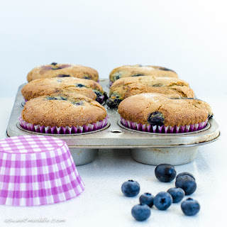 Donna Hay's Too Easy Blueberry Muffins