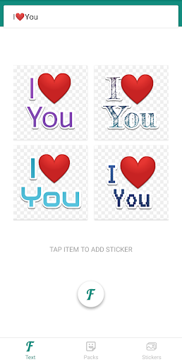 Foto do TextSticker - Create text sticker with color font