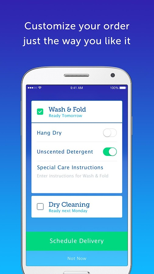 FlyCleaners: Laundry On-Demand- screenshot