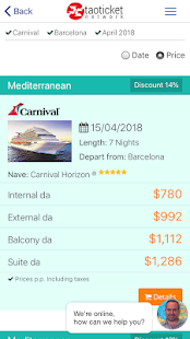 Ticketcarnival - Specialists in Carnival - náhled