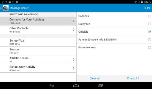 Activity Scheduler screenshot