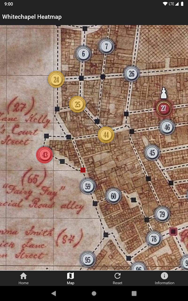 Whitechapel Heatmap Screenshot 11