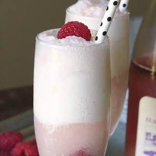 Rosé Ice Cream Float.
