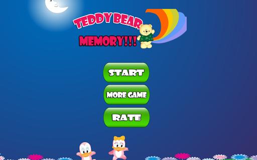 Teddy Bears Memory