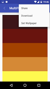 MultiFlatColors screenshot
