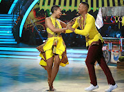 Zola Nombona and her dance partner Tebogo Mashilo  gliding well together. /Supplied