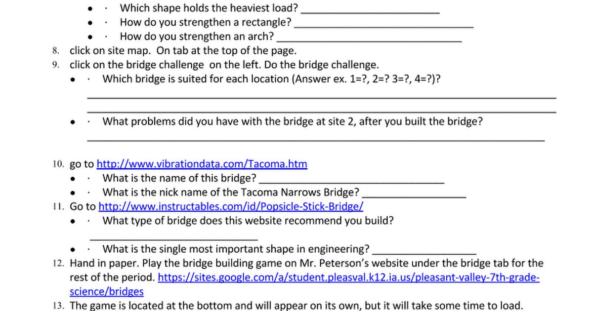 Bridges Wsc Google Docs