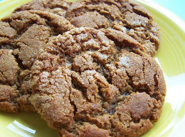 Molasses Crinkle Cookies Recipe