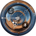 Hubcaps Widget & Watchface for Wear OS Chrome Icon