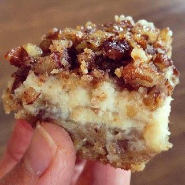 Pecan Cheesecake Squares - Nutty Goodness Recipe