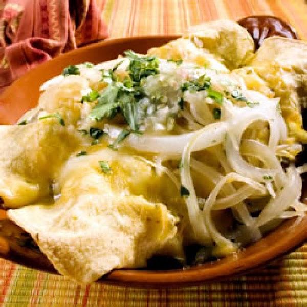 Enchiladas Verdes Recipe
