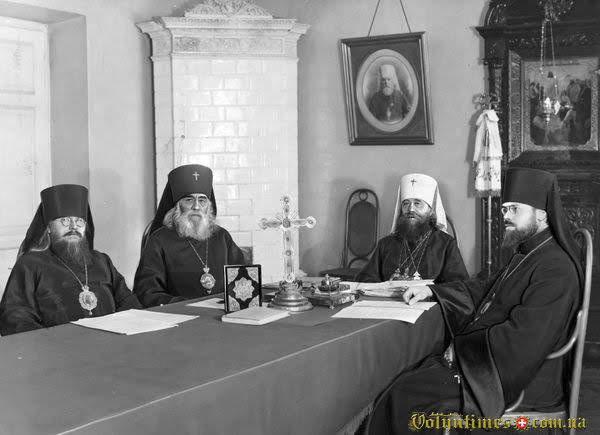 Православний Синод. Грудень 1929 р. Варшава