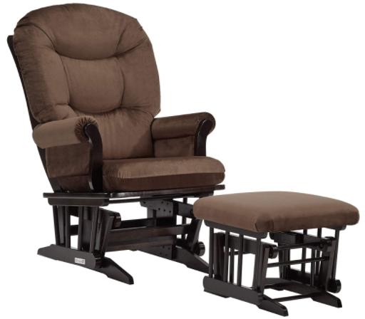Dutailier SLEIGH 0339 Glider chair, #1 best glider for tall parents in 2020