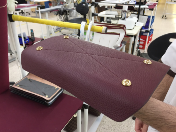 Figure 5: Bag shaped using a 3D printed mold