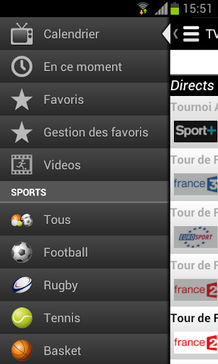 Programme TV Sports 2.1.4 screenshots 2