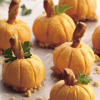 Cheddar Pumpkin Appetizers Recipe