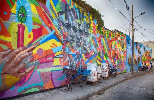 Street Art in Getsemani