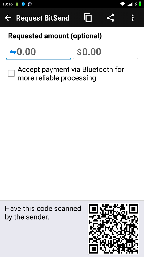 BitSend Wallet- screenshot