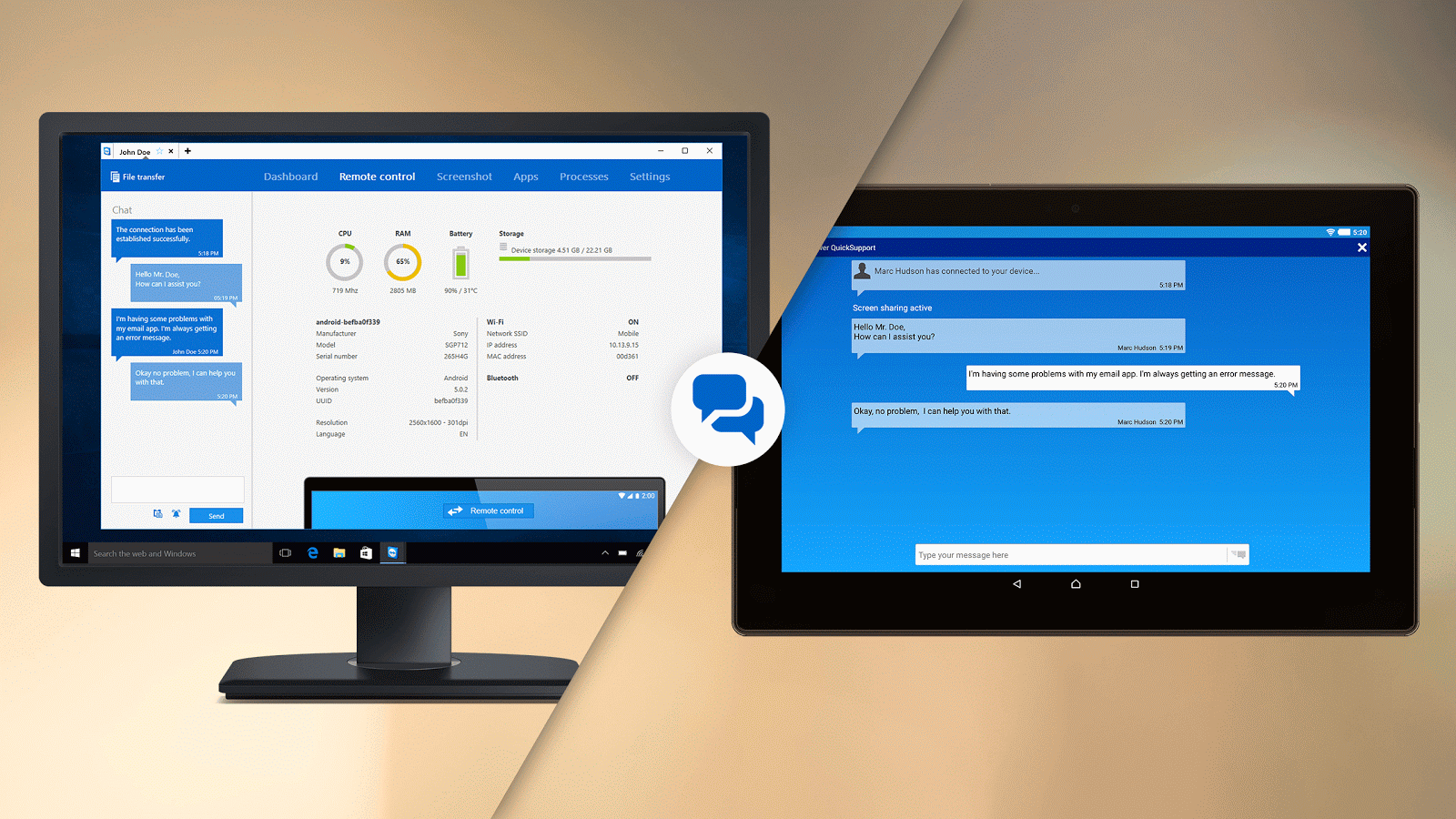 TeamViewer QuickSupport – Android Apps on Google Play