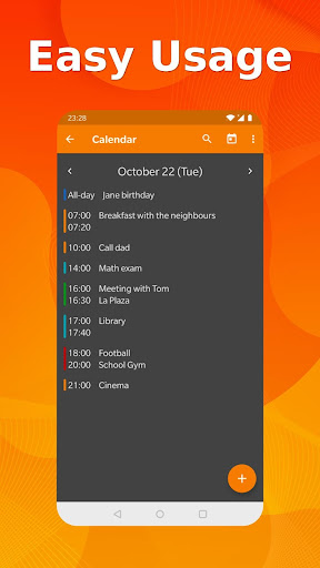 Simple Calendar Pro - Events & Reminders Manager  screen 1
