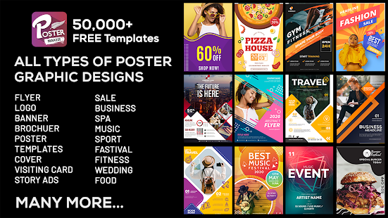 Poster Maker Flyer Banner Maker Graphic Design For Pc Windows 7 8 10 Mac Free Download Guide