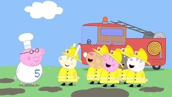 The Fire Engine / Princess Peppa