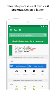 free! invoice,estimate billing - android apps on google play, Invoice templates