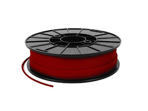 NinjaTek NinjaFlex Fire Red TPE Filament - 3.00mm