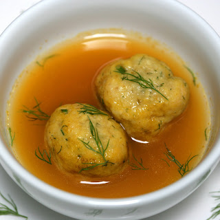 Whole-Wheat Matzo Balls