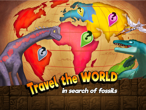 Dino Quest - Dinosaur Discovery and Dig Game apkpoly screenshots 7