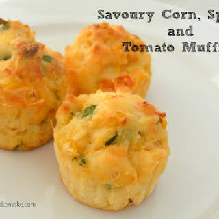 Savoury Vegetable Muffins.