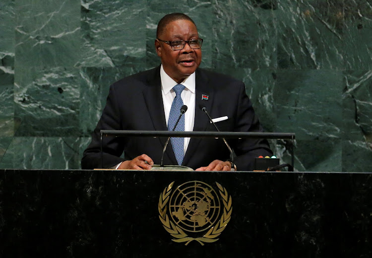 Malawi President Arthur Peter Mutharika used his speech to warn against newly-elected party leaders abusing their positions