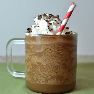 Bourbon Chocolate Frappé.