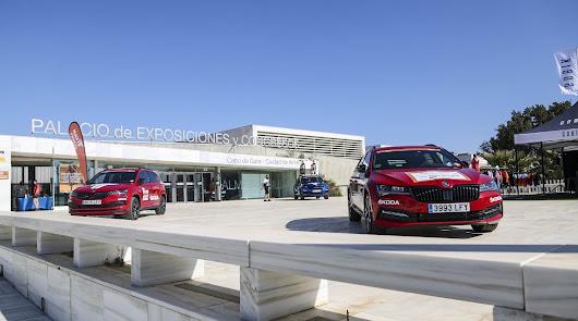 Skoda vehículo oficial de la TITAN DESERT que se celebra en Almería