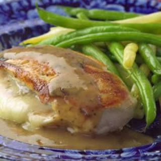 Chicken Stuffed with Golden Onions & Fontina.