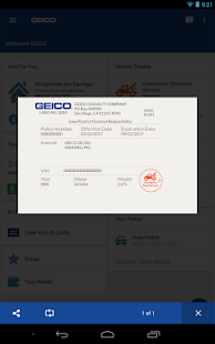 GEICO Mobile- screenshot thumbnail
