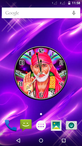 Shirdi Sai Baba Clock