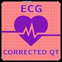 Electrocardiogram (ECG) Rhythm App: Corrected QT icon