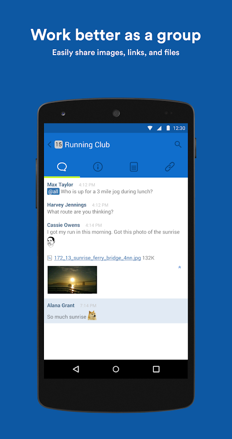 HipChat - Chat Built for Teams - screenshot