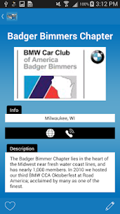 BMW Car Club of America- screenshot thumbnail