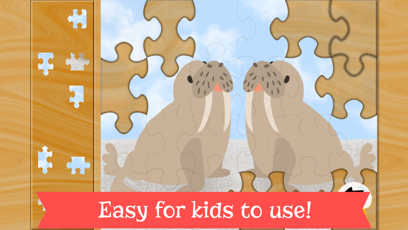 Number Puzzles for Kids- screenshot