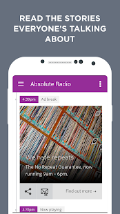 Absolute Radio- screenshot thumbnail