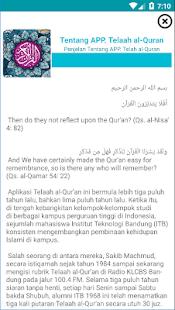 TELAAH AL-QUR'AN - náhled