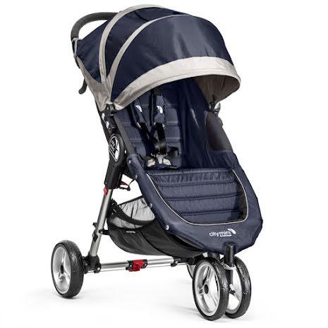 Baby Jogger City Mini Singel, Navy/Gray
