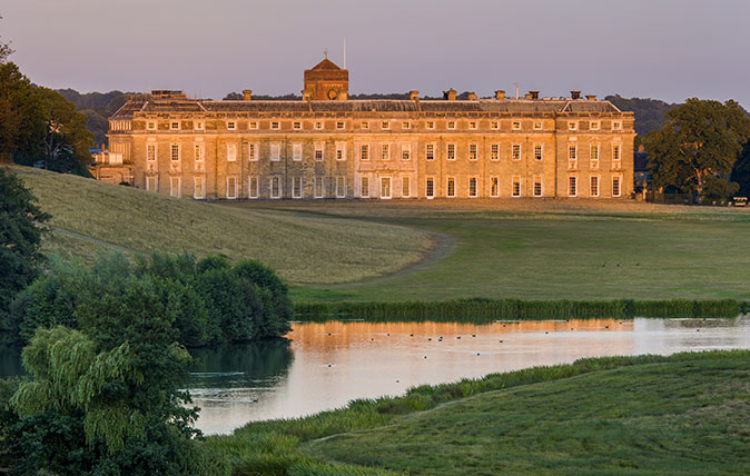 The huge, austere facade of Petworth House was transformed one happy spring day in 1834.