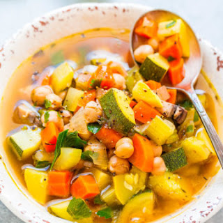 Reset Vegetable Soup.