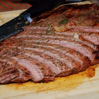 Flank Steak with Rosemary