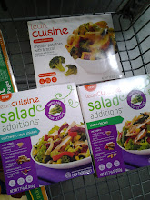 Photo: I grabbed several Lean Cuisine frozen boxes. I also needed drinks, and spotted a few things for my poor little guy sick at home with strep!